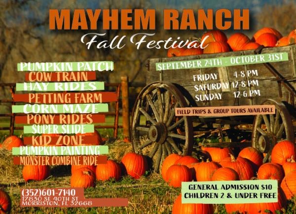 Mr Fall Festival Postcard 5 X 7 Scaled - Mayhem Ranch